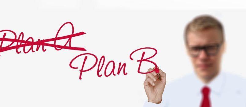Warum dein Plan B auch eine schlechte Idee sein kann (c) geralt / pixabay.de
